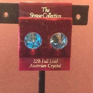 New Austrian Crystal post earrings.  2/$16 Sale